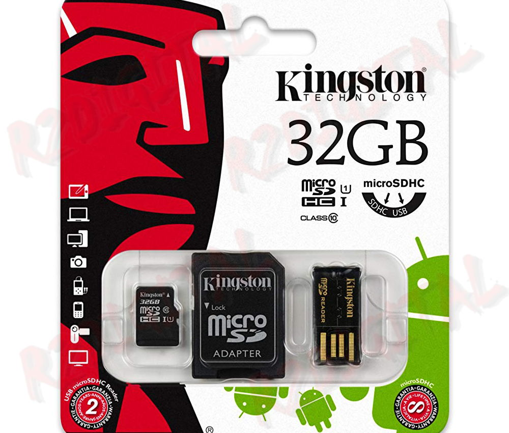 KINGSTON MICRO SD 32 GB CLASSE 10 MOBILITY KIT